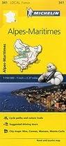 Alpes-Maritimes (Michelin Local Maps)