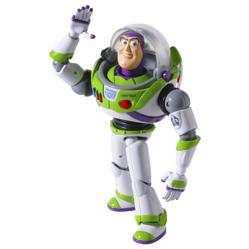 Toy Story SCI-FI Revoltech Series No.011 Buzz Lightyear Figura De Acción