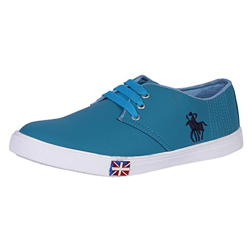 Freedom Daisy Men's Casual Shoes Sneaker (8, Sky Blue)