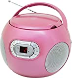 Soundmaster scd2120pi–Boombox CD-Radio, Rosa