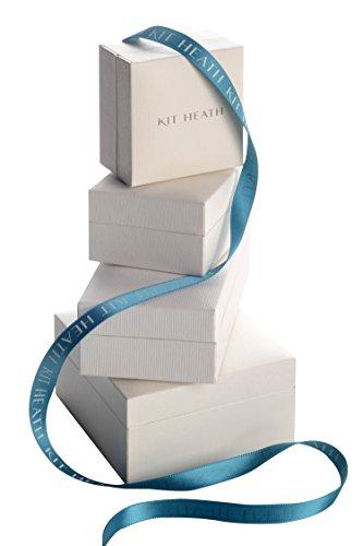 Kit Heath-Argent 925/1000et Plaque Boucles d'Oreilles Pendantes Femme-Cœur Or