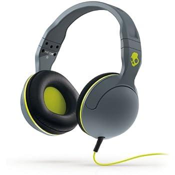 Skullcandy Hesh 2.0 Over-Ear Headphones - Grey/Black/Hot Lime