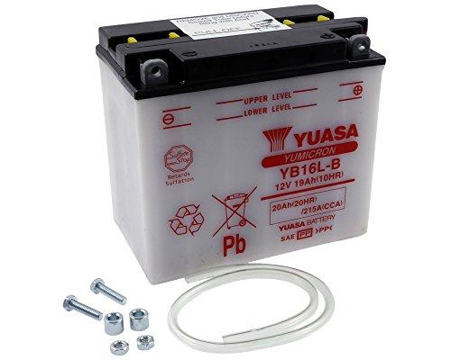 Batterie YUASA - YB16L-B für BRP - SEA-DOO All Models Baujahr 88-93 [inkl. 7,50 EUR Batteriepfand] (Sea Doo Batterie)