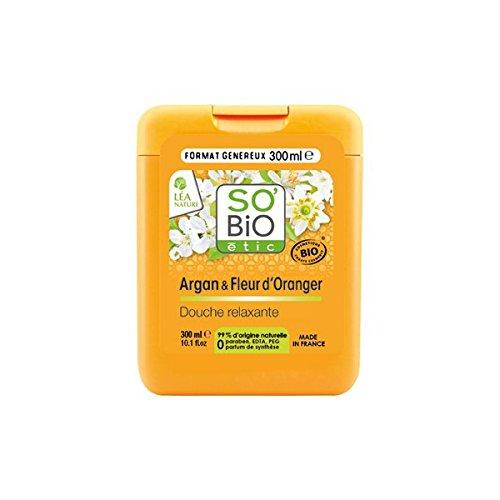So Bio Etic Duschcreme mit Bio Argan & Organgenblüten und Aloe Vera 300 ml