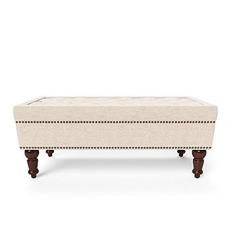 Jellywood® by MCRAL® Sitzhocker Heloise quadratisch, Retro Vintage Chesterfield-Stil, hochwertiger Sitzhocker mit hohem Sitzkomfort