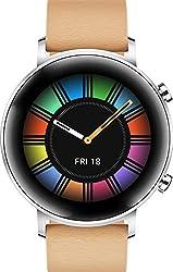 HUAWEI Watch GT 2 Classic (42 mm), [Exklusiv +5EUR Amazon Gutschein], Gravel Beige