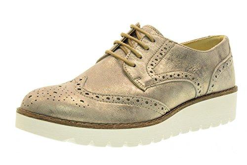 Igi & Co Inglesine Chaussures Femme Avec Plateforme 77423/00 Platino Platino