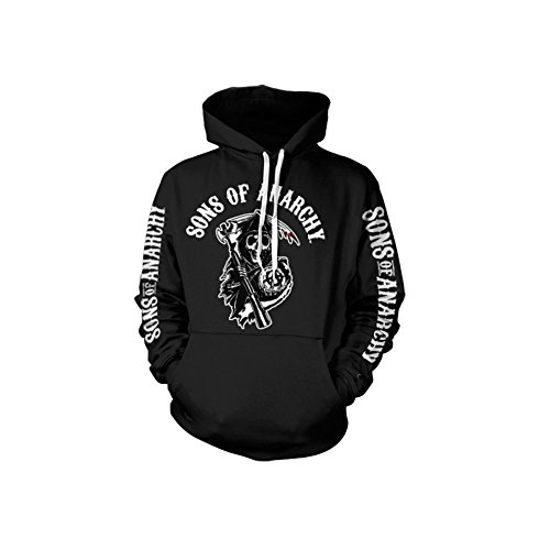 Sons Of Anarchy Logo Hoodie (Black), - Sweatshirts Jax Of Anarchy Sons