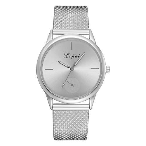 Damen Armbanduhr,Alaso Lvpai Frauen Casual Quarz silikonband Band Uhr analog Armbanduhr Classic Minimalistisches Design