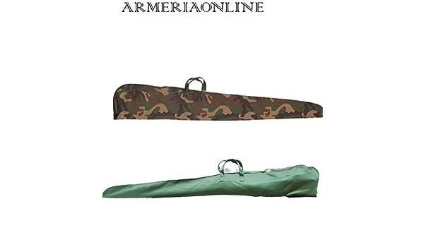 Ra sport Fodero per Fucile da Caccia in Cotone Verde Mimetico Custodia Porta Fucili Armi