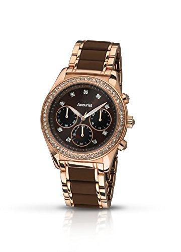 Accurist LB211BR.01 - Reloj de pulsera para hombres, bicolor