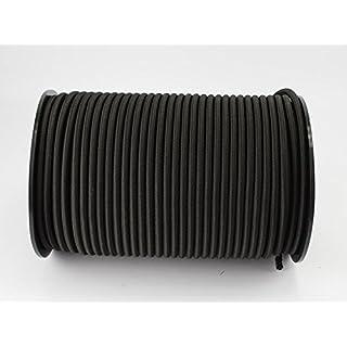 20m Expanderseil schwarz 8mm Gummiseil Planenseil Spannseil elast, Seil Plane