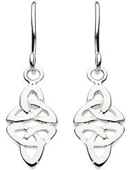Heritage 6216HP - Pendientes de plata de ley sin gema con cierre de gancho