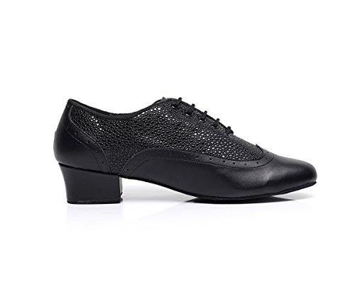 Cfp, Chaussures De Danse Pour Hommes Noirs