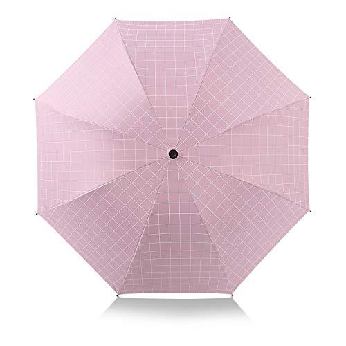 DORRISO Plegable Paraguas Mujer Sombrilla Portátil