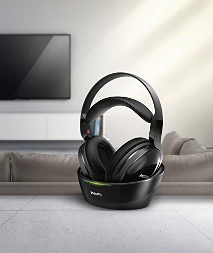Philips SHC8800/12 Over-Ear Funkkopfhörer (offen, 100m Reichweite) schwarz - 6