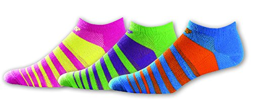 Kinder Unisex 3 Pack No Show Socken (3pk Sock Show No Kinder)