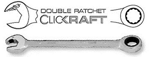 Kraftwerk 3401-10 D-CLICKRAFT Clé mixte à cliquet 10 mm