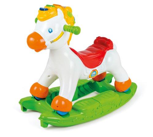 Clementoni clementoni-14430 martino il cavallino cavalcabile primi passi prima infanzia 274, colore green, white, 14430
