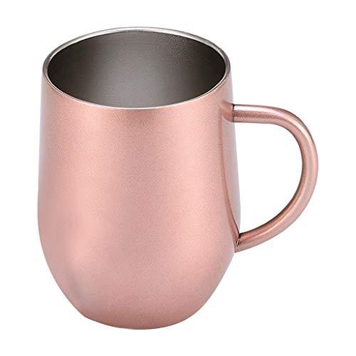 rug Viking Schädel Harz auffallender Cup Reisen (Rosa Gold) ()