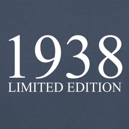 1938 Limierte Auflage / Limited Edition - 79. Geburtstag - Damen T-Shirt - 14 Farben Navy