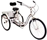 "HIGH QUALITY DISABILITY ADULT TRICYCLE BIG 26"" WHEELS,ALLOY FRAME, A TRIKE ALSO SUITABLE"