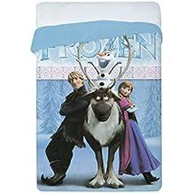 Winter Quilt Lisenced Frozen & Friends Bed 90/105 Pink 180x260 cms