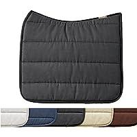 Sattelunterlagen Eskadron Sattelpad mit Rückenform in schwarz Polo Pad Größe Dressur