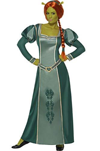 Shrek Halloween - Fancy Me Damen Offiziell DreamWorks Shrek
