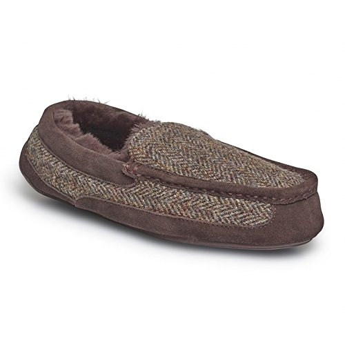 just-sheepskin-eaton-mens-sheepskin-moccasin-slippers-tweed-uk-8