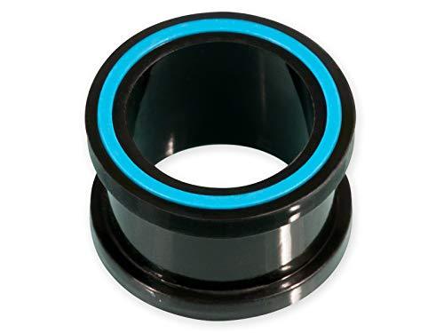 Fly Style Silikon Flesh-Tunnel Hollow Eye Ohr Plug Verschiedene Farben Viele Größen st013, Grösse:14 mm, Farbwahl:Blau