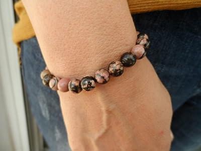 Bracelet pierre Rhodochrosite naturelle