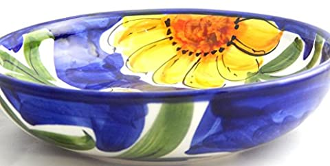 Hand painted large Salad Bowl,