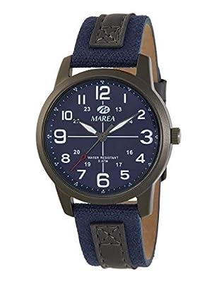 Reloj Caballero Marea Trendy. Cuero Azul B54152/2