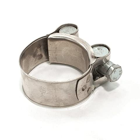 Exhaust Clamp Downpipe to Silencer 38-41mm für HMC, Pulse, Zongshen (EHCL004) (Exhaust Muffler Clamp)
