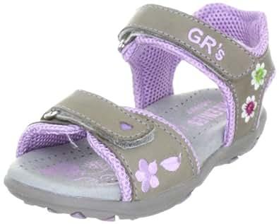 Greenies 160201, Mädchen Sandalen/Fashion-Sandalen, Grau (granit), EU 26