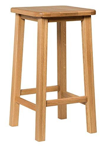 Waverly Eiche Frühstück Bar Hocker in Eiche hell Finish | massiver Holz Hocker | Esszimmerstuhl - 4 Zähler Höhe Stühle