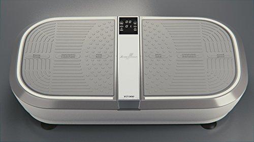 TESTSIEGER Sportstech Profi Vibrationsplatte VP300 Mit 3D Wipp Vibrations Technologie – Bluetooth A2DP Musik, Riesige Fläche-2 Kraftvolle Motoren – Einmaliges Design – Trainingsbänder – Fernbedienung - 7