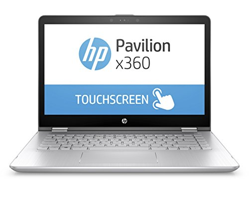 HP Pavilion x360 14-ba075TX 14-inch Laptop (7th Gen Core i3-7100U/4GB/1TB/Windows 10 Home/2GB Graphics), Silver image - Kerala Online Shopping