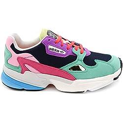 Adidas Falcon W, Zapatos de Escalada para Mujer, Maruni/Vealre 000, 40 EU