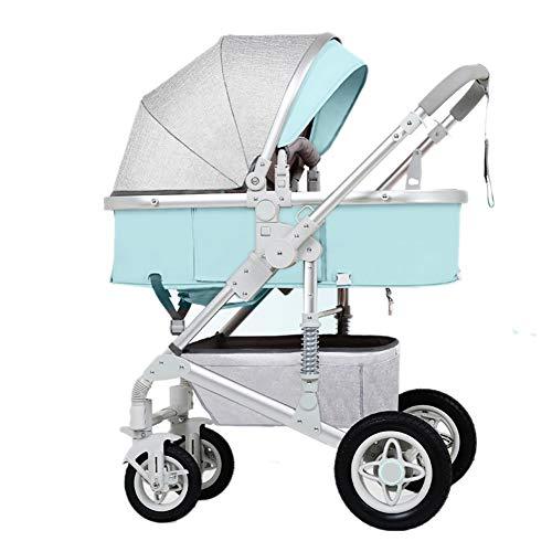 414ec98ce7660 Bébé Guo Poussette, Pliant Léger Amortisseur Enfants Pousser Chariots  Infantile Trolley Cadre en Acier Inoxydable