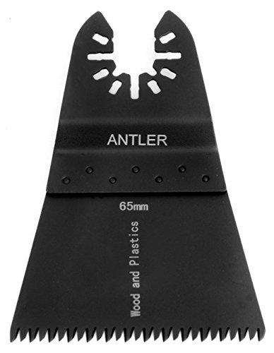 10x Antler 65mm grobe Sägeblätter für Multifunktionswerkzeuge, für Dewalt Stanley Worx F30Black & Decker