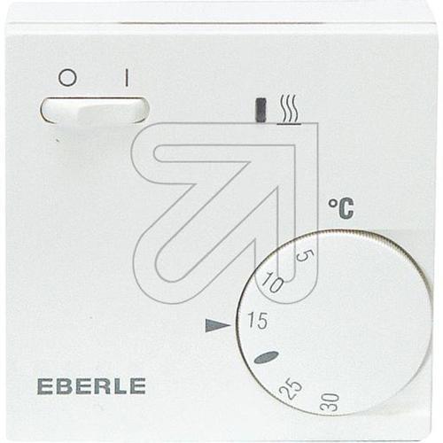 Eberle RTR - E 6202 Raumthermostat mit Netzschalter und LED