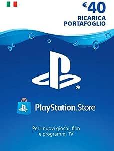 PlayStation Network PSN Card 40€ | Codice download per PSN - Account italiano