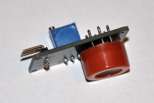 MQ-3 MQ3 Alkoholsensor Ethanol Alkoholtest - Erkennungsmodul DC 3-5 V 10 bis 1000 ppm 4 Pin