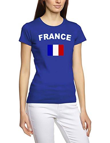 EM 2016Football toutes les Nations T-shirt Femme s M L XL XXL tous les participants Pays De La Em 2016 - France