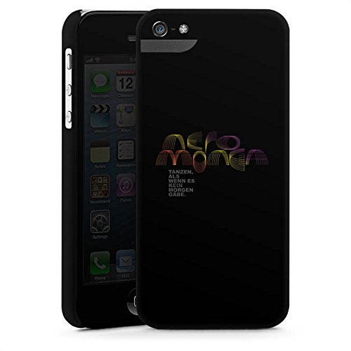 Apple iPhone X Silikon Hülle Case Schutzhülle Neromonga - tanzen Spruch Schwarz Premium Case StandUp