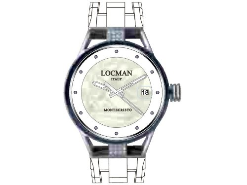 Locman ladies watch Montecristo Lady 0520V09-D0MWIDSW