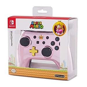 Manette filaire Nintendo Switch Chrome Peach