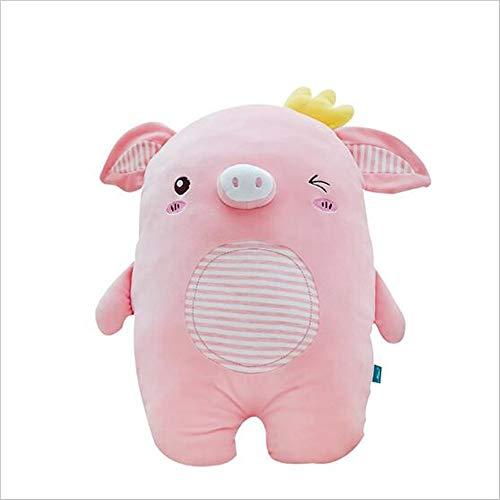 e Schwein Figur Schwein Plüschtier große super weiche gefüllte Spielzeug Kissen Cartoon Puppe Tiere beste Geschenk für Kinder kreative Geburtstagsgeschenk senden ()